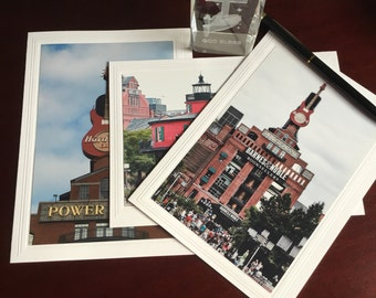 Baltimore Photo Note Card, All occasion  Note Card, set of 3, 4x6 Photo mounted on 5x6 7/8 Card, Inspirational Note Cards, Greeting Cards