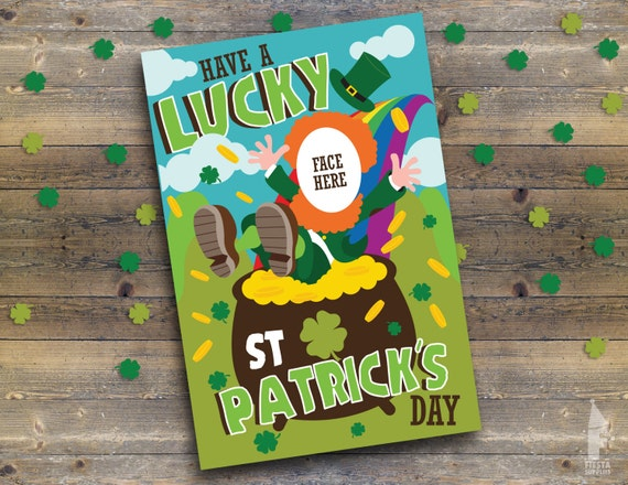 St Patrick's Day Party Printable Photobooth Props