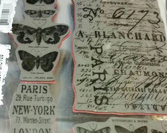 Stampers Anonymous  Papillion  Tim Holtz