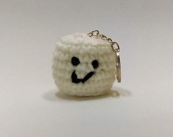 Marshmallow Keychain