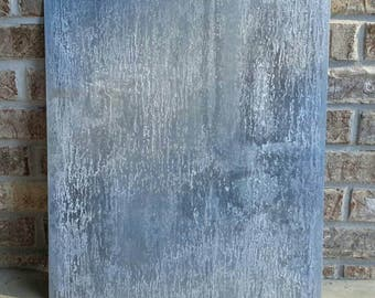 "Clearance: Galvanized steel sheet 16 ga rustic great for magnets, 17-3/4""×17-3/4"" or 17-3/4"" x 20"""