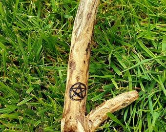 Scottish gorse wood wand