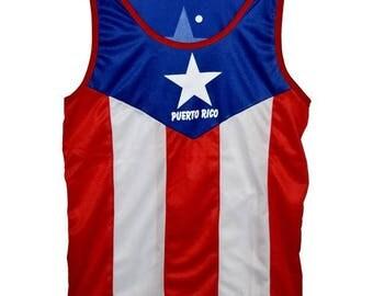 Puerto Rico Jersey Tank Top