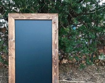 Large Rustic Framed Chalkboard Sign, Rustic Wedding, Wedding Sign, Framed Chalkboard - All Sizes!