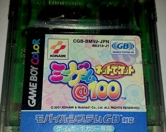 Net de Get: Mini-Game @ 100 Game Boy Cartridge CGB-BMVJ-JPN *Japanese* *Used*