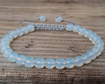 Moonstone crystal bracelet fertility bracelet moonstone power bead bracelet moonstone friendship bracelet gift idea bracelet with moonstone