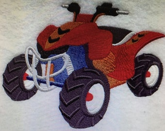 "Embroidered ""ATV - 4 Wheeler"" Shirt"
