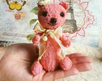 Phoebe Valentine handmade ooak mohair artist teddy bear