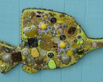Yellow Blow Fish #0502