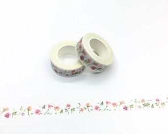 Roses Washi Tape - Watercolor Series