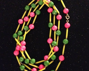 Bright Neon Necklace