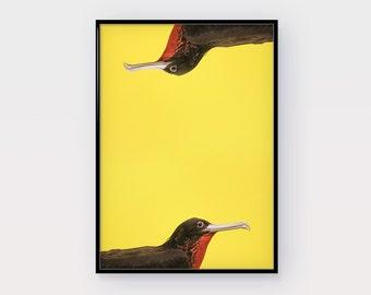 Birds Art Print, Printable Art, Black Birds , Photography, Digital Print, Modern Wall Art, Minimalist Art, Geometric Art, INSTANT DOWNLOAD