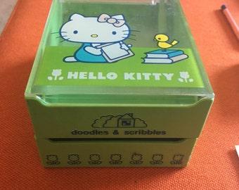 Hello Kitty Vintage 1976 Memo Box - Doodles & Scribbles