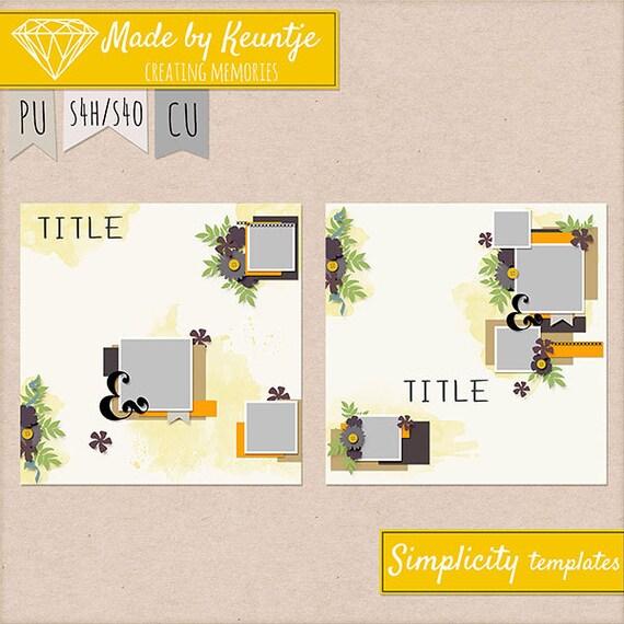 Simplicity Templates