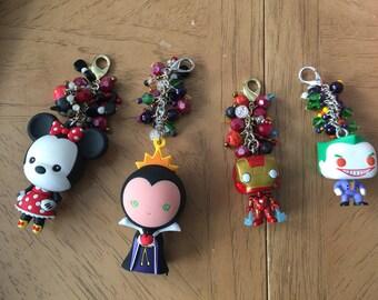 Customized Character Keychain