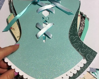 Personalized Scrapbook for Bride