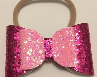 Barbie Girl Glitter Bow