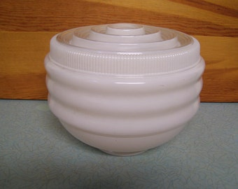 Vintage Large Light Glass Globe