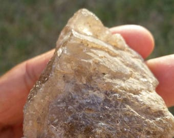 Rough Golden Rutilated Quartz
