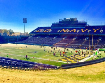 Navy-Marine Corps Stadium - Annapolis, MD print on canvas