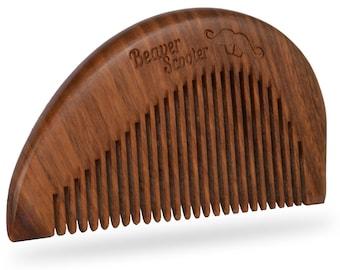Beaver Scooter 701 Sandalwood Beard Comb