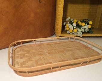 SALE 20% OFF Wooden decorative tray, bamboo serving tray
