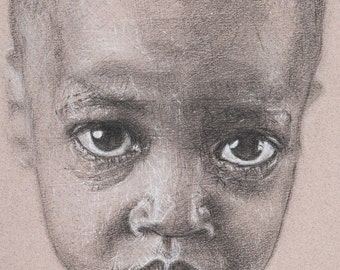 Limited Edition Print, 'Portrait #6'