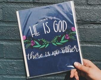 Isaiah 46 Print
