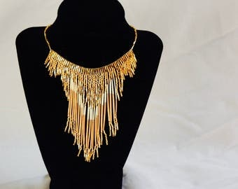 Midas Touch Quill Necklace