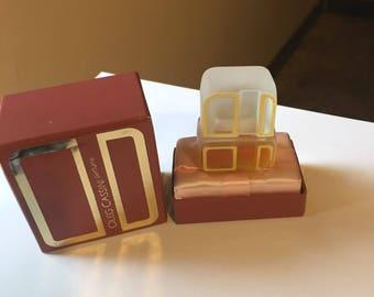 Vintage Oleg Cassini boxed mini perfume