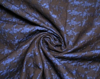 Refined cotton jacquard fabric, embossed with futuristic designs