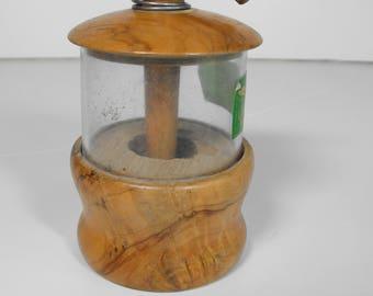Olive Wood Herb Grinder Mill   (1007)