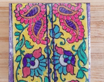 Colorful Paisley Magnet
