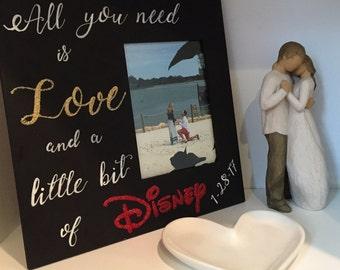 Love & Disney Picture Frame