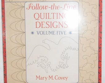 Follow The Line Quilting Designs Mary Covey : Continuous arm Etsy