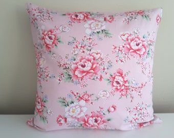 "Pillowcase ""Pink rose garden"""