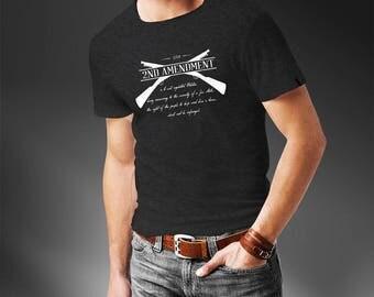 2nd Amendment T-Shirt - Patriotic T-Shirt - Pro 2A