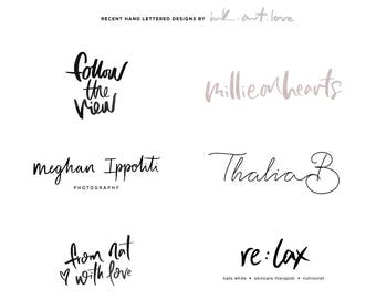 Custom Logo Design / Blog Header