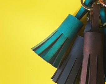Ada- Leather tassel