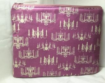 chandelier bag, pink chandelier purse ,chandelier clutch
