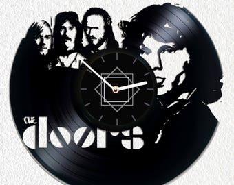 Vinyl clock The Doors