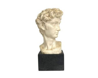 Michelangelo Head of David A. Santini Italy