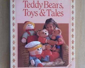 Teddy Bears Toys & Tales by Jean Greenhowe, Toy Making Patterns, Jean Greenhowe Toys,