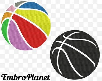 Basketball balls - Designs for Embroidery Machine Digital Graphic Design File Stitch Instant Download Commercial Use game ball 186e
