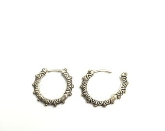 Barbara Bixby Hoop Earrings
