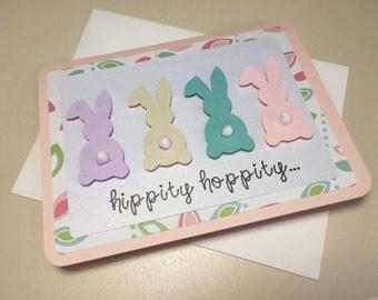 Hippity Hoppity Easter Card