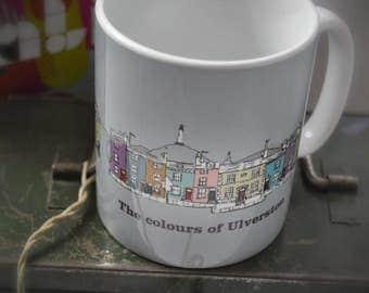 The Colours of Ulverston Bone China Mug
