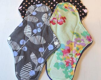 Pantyliner, Protective underwear, washable, pregnancy, eco-friendly, woman, hygiene, zero-waste, handmade, incontinence