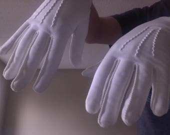White Max Mayer's Gloves