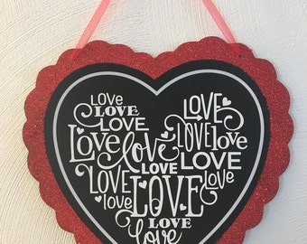 Heart Shaped Valentines Decor
